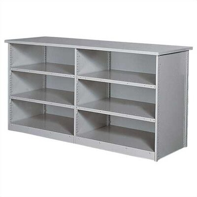 Penco Clipper Specialty Shelving - Counter Shelving Basic Unit