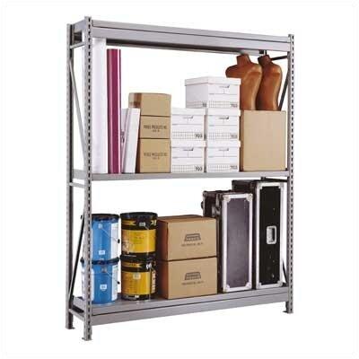 Penco Wide Span 2 Shelf Shelving Unit Starter