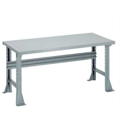 Penco Open Height Adjustable Plastic Laminate Top Workbench