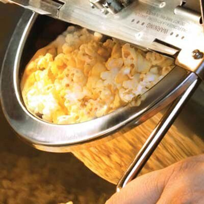 Funtime Popcorn Machines 8 Oz. Sideshow Hot Oil Kettle Popcorn Machine