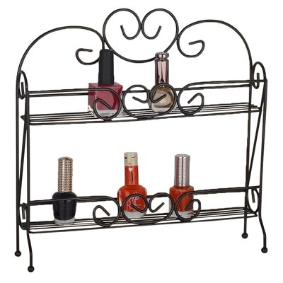 2-Tier Nail Polish and Cosmetics Organizer by Above Edge