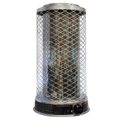 125,0000 BTU Portable Propane Radiant Tower Heater by Dyna-Glo