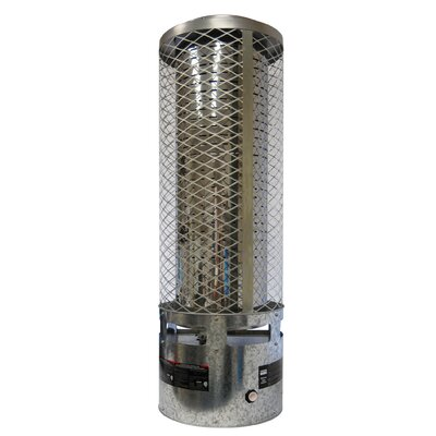 250,000 BTU Portable Natural Gas Radiant Tower Heater by Dyna-Glo