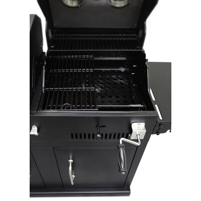 Dyna Glo Gas Grill With Adjustable Charcoal Tray Amp Reviews