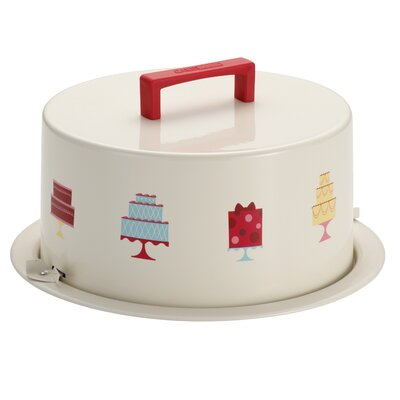 Serveware Metal Cake Carrier by Cake Boss