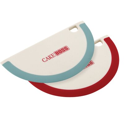 Nylon Tools and Gadgets Silicone Bowl Scraper by Cake Boss