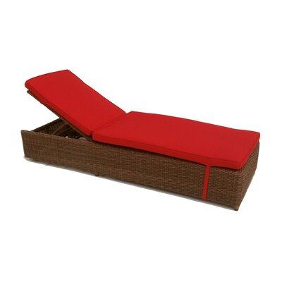 Santa Barbara Chaise Lounge with Cushions by ElanaMar Designs