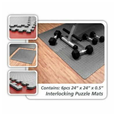 Interlocking Floor Mat by Unified Fitness Group
