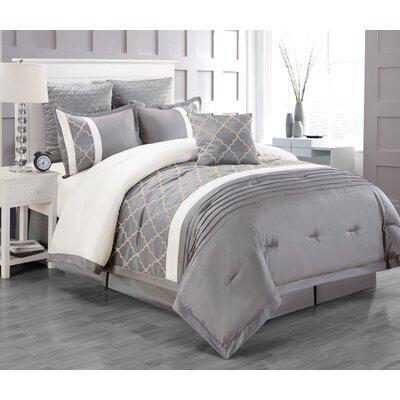 Central Park 7 Piece Comforter Set by CHD HOME TEXTILE LLC