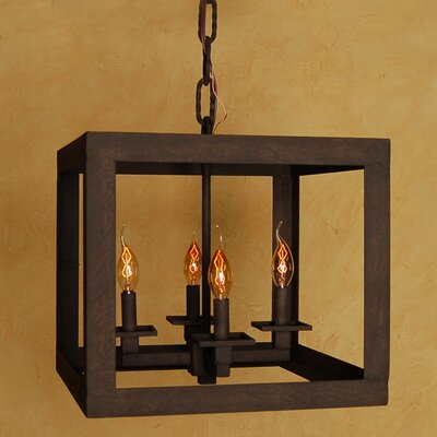Cube Mini Chandelier by Laura Lee Designs