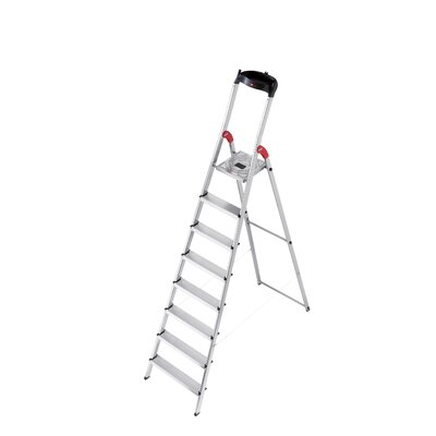 Hailo USA Inc. XXR 7.64 ft Aluminum Step Ladder with 330 lb. Load Capacity