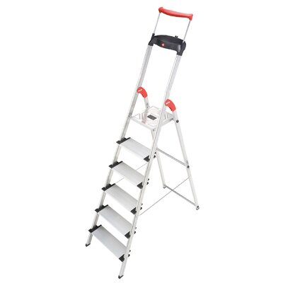 Hailo USA Inc. XXR 6.23 ft Aluminum Step Ladder with 330 lb. Load Capacity