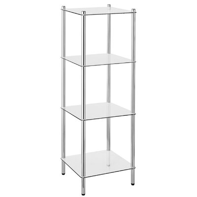 House Additions Silverdown Bathroom Shelving Unit I Reviews Wf
