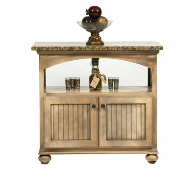American Premiere Kitchen Island with Granite Top Product Photo