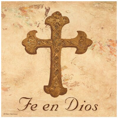 Fe en Dios Cross Occasions Trivet by Thirstystone