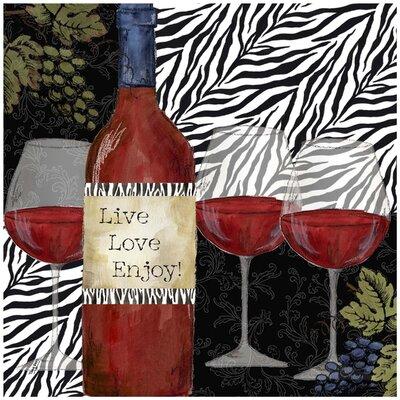 Zebra Wine Occasions Trivet by Thirstystone
