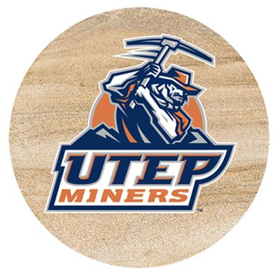 University of Texas El Paso Collegiate Coaster by Thirstystone