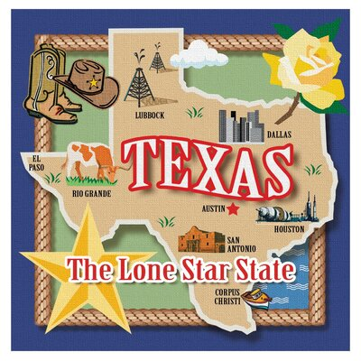 True Texas Occasions Coasters Set by Thirstystone