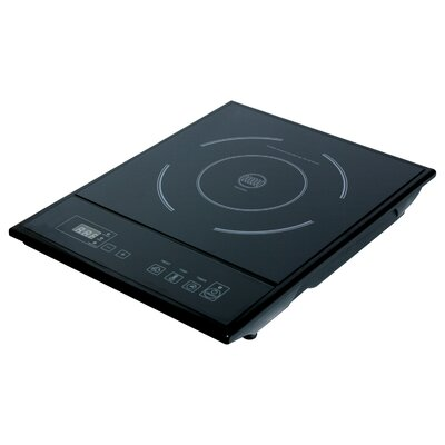 "Total Chef 15"" Electric Induction Cooktop with 1 Burner Product Photo"