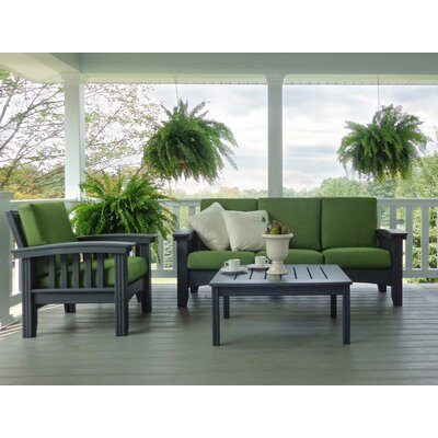 4 Piece Lounge Seating Group with Cushion by Hershy Way