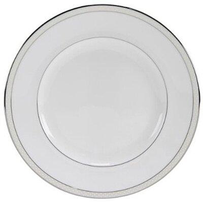 "Nikko Ceramics Platinum Beaded Pearl 8"" Salad Plate"