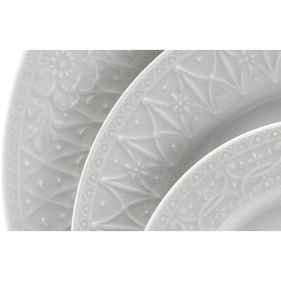 Nikko Ceramics Blanc Fleur Dinnerware Collection