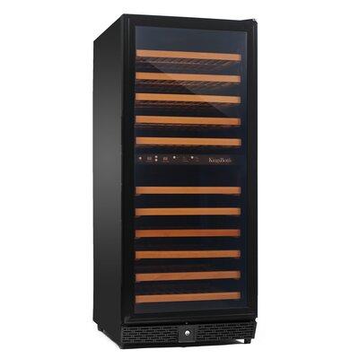 120 Bottle Dual Zone Compressor Wine Cooler by Kingsbottle