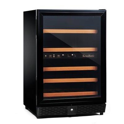 50 Bottle Dual Zone Built-In Wine Refrigerator by Kingsbottle