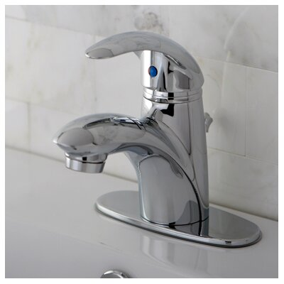 Wilton Single Handle Bathroom Faucet with ABS Pop-Up Drain  and Optional Deck Plate Product Photo
