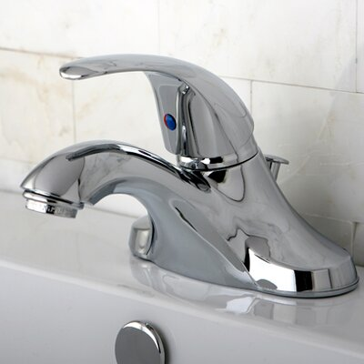 Legacy Single Handle Bathroom Faucet with ABS Pop-Up Drain Product Photo