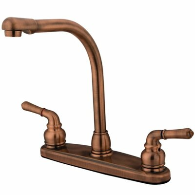 Magellan Double Handle High Arch Kitchen Faucet Wayfair