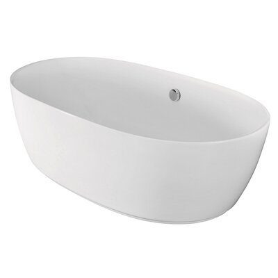 "Aqua Eden 67"" x 29.5"" Soaking Bathtub Product Photo"