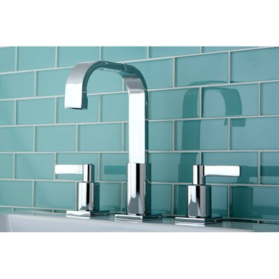 Continental Double Handle Widespread Bathroom Faucet by Kingston Brass