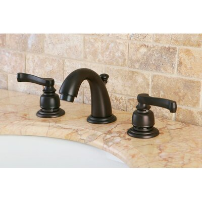 Magellan Double Handle Widespread Bathroom Faucet with ABS Pop-Up Drain Product Photo