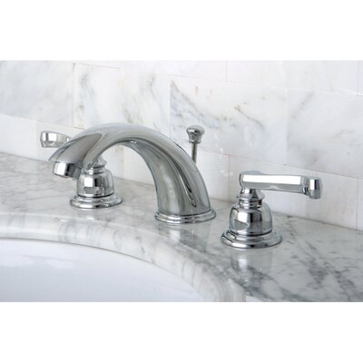 Royale Double Handle Widespread Bathroom Faucet with Retail Pop-Up Drain Product Photo