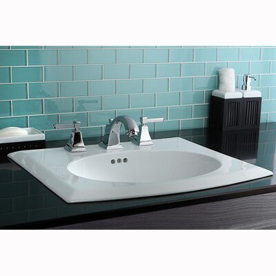 Monarch Double Handle Widespread Bathroom Faucet with Pop-Up Drain Product Photo