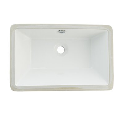 Castillo China Under Mounted Bathroom Sink Product Photo