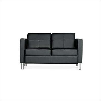 Global Total Office Citi Leather Sofa