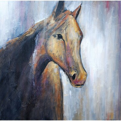 Equidae Canvas Wall Art by Ren-Wil