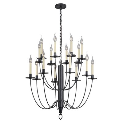 Lance 16 Light Candle Chandelier by Ren-Wil