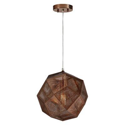 La Ruche 1 Light Globe Pendant by Ren-Wil