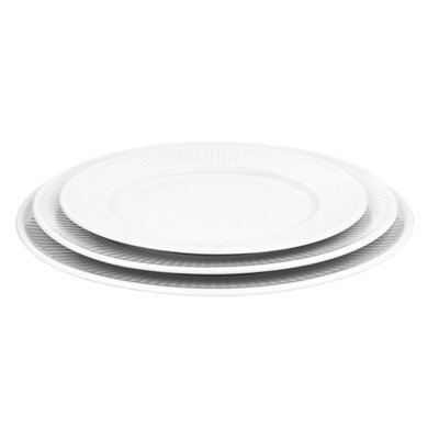 "Pillivuyt Plisse 11"" Plate"
