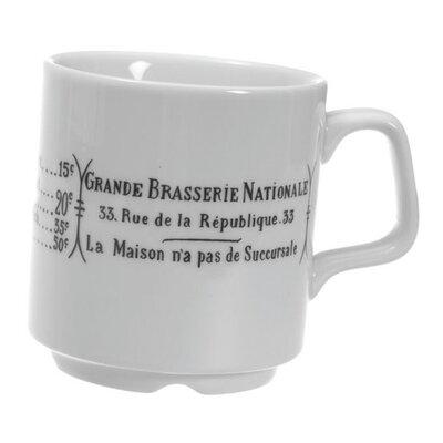 Pillivuyt Brasserie 9 oz. Mug