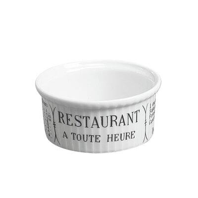 Pillivuyt Brasserie 5 oz. Pleated Ramekin