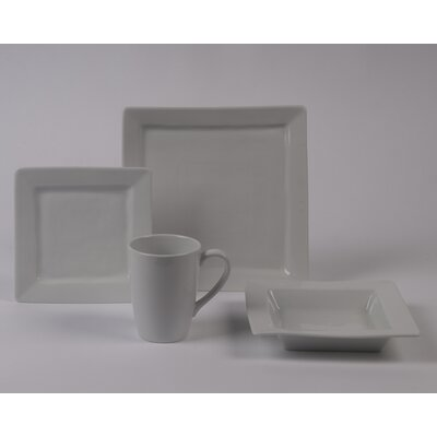 Quartet Rimless Bowl 4 Piece Dinnerware Collection by Pillivuyt
