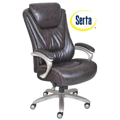 Blissfully High Back Executive Chair by Serta at Home