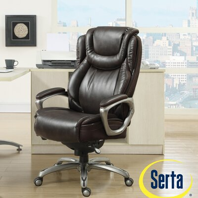 Harmony High-Back Executive Chair by Serta at Home