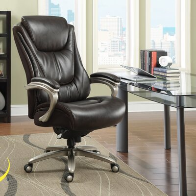Serta At Home Blissfully High Back Executive Office Chair Reviews Way