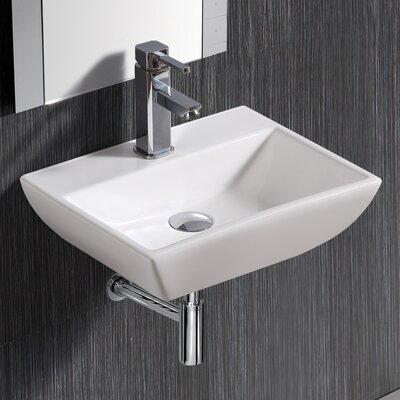 Wall MountedRectangularCompact Sink Product Photo
