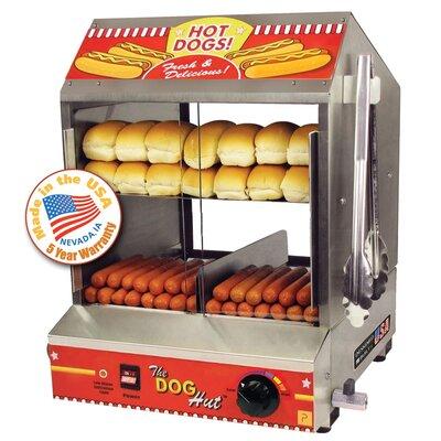 Paragon International Dog Hut Hot Dog Steamer